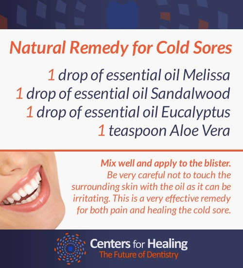 Try out this holistic cold sore home remedy from Dr. David Villarreal that works.