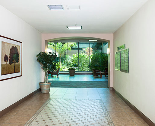 BioDental Healing Building Lobby