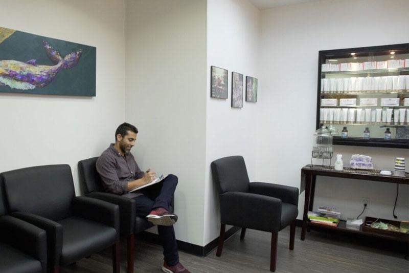 BioDental Healing Building Waiting Room
